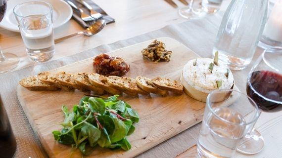 Wine & Cheese Board